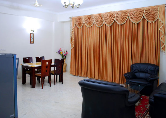 Koramangala Serviced Apartment, ST Bed. 15