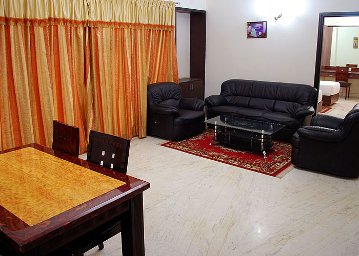 Koramangala Serviced Apartment, ST Bed. 8